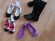 GIRLS GYMBOREE SHOES, BOOTS SZ 5, 6, 9,10, 11, 12, 1, 2 POSH AND PLAYFUL