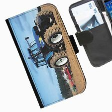 Tractors  Leather wallet personalised phone case for Nokia Lumia Phone