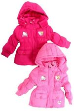 Hello Kitty Winterjacke 92 98 104 110 116 Jacke Parka Winter Anorak Minnie Mouse