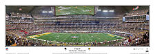 Super Bowl XLV Green Bay Packers beat Pittsburgh Steelers Panoramic Poster 1041
