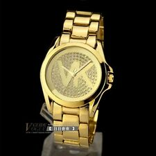 Runway Celebrity Style  Gold  Ladies Watch, Unisex, Ladies Crystal Watch 5706