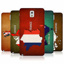 HEAD CASE FLAG MAPS BATTERY REAR COVER FOR SAMSUNG GALAXY NOTE 3 N9005