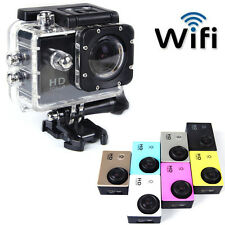 WIFI HD 1080P 12MP Sports DV Action Waterproof Car Helmet Camera SJ4000 Recorder