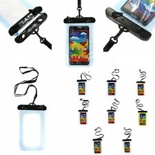 Waterproof Underwater Pouch Bags Case for iPhone 5S 5C 5 4S 4 Samsung HTC Nokia