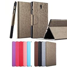 HX Slim Thin Oracle lines Stand Leather Case For Samsung galaxy Tab S 8.4 T700