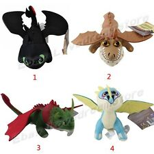 Dreamworks How to Train Your Dragon Toothless Stormfly Gronckle Plush Doll Toy
