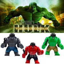 Avengers Super Heroes SuperSize HULK Mini Figure Fit Christmas Toy