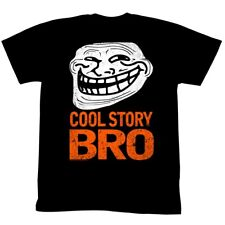 U Mad? You Mad Bro? Meme GIF Trending Halloween Cool Story Bro Adult T-Shirt