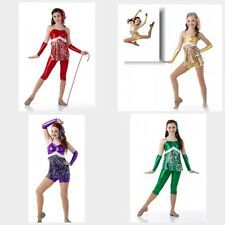 JINGLE BELL ROCK Dance Costume Shorts or Capri Version Christmas Cheer Jazz Tap