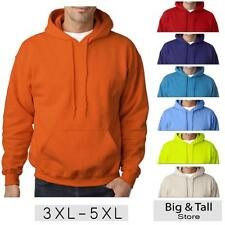 Big Men's Gildan Pullover Hoodie Sweatshirt Brights Sizes 3XL 4XL 5XL