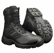 New Mens Magnum Panther 8.0 Side Zip Tactical Leather Combat Boots Size 4-15 UK