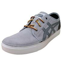 Asics Onitsuka Tiger Claverton Men's Suede Retro Sports Trainers Shoes grey 2108
