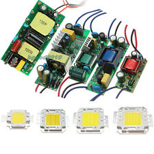 Driver Power Supply & High Power 10W 30W 50W 100W Watt LED SMD Chip Lamp Light