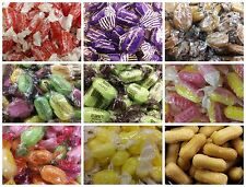 HARD BOILED ASSORTED SWEETS (LOW POSTAGE, WE POST UP TO 600g FOR ONLY £1.30!)