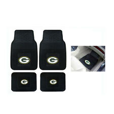 New NFL Green Bay Packers Car Truck Front Rear Heavy duty All Weather Floor Mats