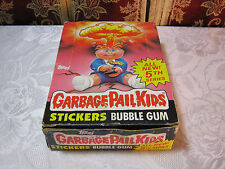 GARBAGE PAIL KIDS STICKERS BUBBLE GUM FULL BOX UNOPENED PACKAGES SERIES 5   T*