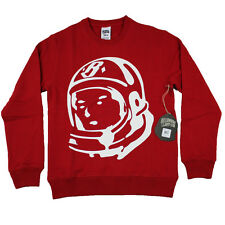 Billionaire Boys Club Helmet Crewneck Sweatshirt in Chinese Red NWT - B0013K002