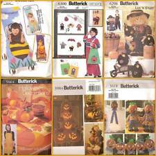 Halloween Decorations Thanksgiving Holiday Butterick Sewing Pattern You Pick