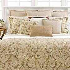 Ralph Lauren DESERT SPA Tan Paisley Standard or Euro Shams NIP MSRP $142/$175