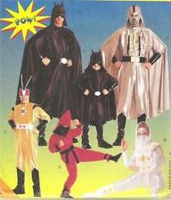 Star Wars Darth Vader Batman Super Heros Costume McCalls Sewing Pattern 8334