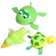 New Cute Wind up Bath Diver Plastic Toy Swimming Baby Kids Bath Toys #Cu3