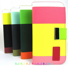 Wallet Card Holder PU Leather Durable Flip Pouch Case Cover For iPhone 6 /plus