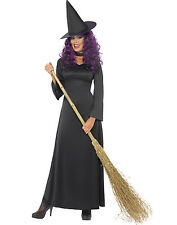 Classic Wizard Of OZ Wicked Witch Evil Black Adult Halloween Costume Womens
