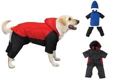 DOG SNOWSUIT - High Quality Snow Suits for Dogs - Keep Your Poochie Warm & Dry !