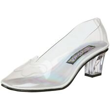 CINDERELLA glass SLIPPER Fairy Tale PRINCESS Women's Shoes Clear 6 7 8 9 10 11