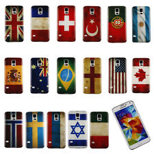 ZY RetroStyle National Flag Case Cover for Samsung Galaxy S5 i9600