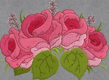 Luxurious Roses - Machine Embroidery Designs Set of 10 CD