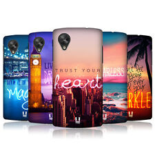 HEAD CASE WORDS TO LIVE BY SERIES 4 PROTECTIVE COVER FOR LG GOOGLE NEXUS 5 D821