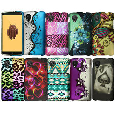 Hard Case Cover Texture Image Accessory For LG Google Nexus 5 D820 Colorful
