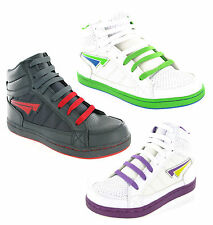 Trainers Hi Top Boys Girls Mercury Baseball Ankle Boots Skate Size 14-7 New