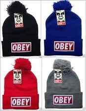 NEW Hip-Hop Supreme OBEY Beanies men's women's Winter Cotton knit cap wool Hats