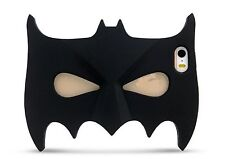 Hot 3D Cute Batman Mask Soft Silicone Case Cover for Iphone Samsung Phones