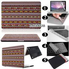 Bohemian Frosted Matte Rubberized Hardshell Hard Case Cover For Apple MacBook