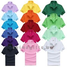 Popular 15 Colors Men Lapel POLO Shirt Short Sleeve Casual Sports T-shirt Tops