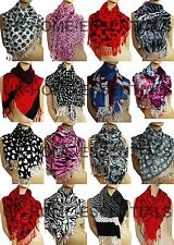 CLEARANCE SALE NEW GORGEOUS LADIES PRINTED PASHMINA HIJAB SCARF MANY PATTERNS