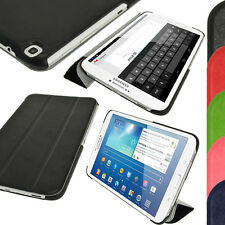 """PU Leather Smart Case Cover for Samsung Galaxy Tab 3 8.0"""" SM-T310 T311 T315"""