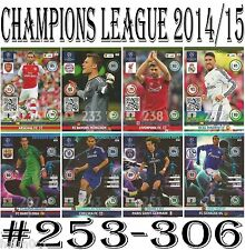 FANS FAVOURITE Adrenalyn 2014/2015 Champions League Panini card 14/15