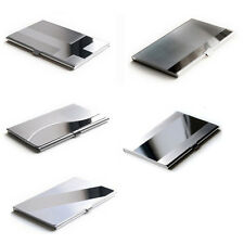 Vogue Silver Aluminium Business ID Name Credit Card Holder Case Stainless Steel
