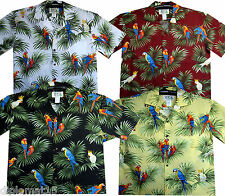Original Hawaii Shirt Hawaiian Shirt Hawaiian HAWAIISHIRT Parrot SML XL