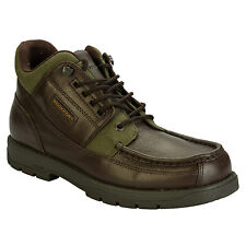 Mens Rockport Marangu Hiker Boots In Brown These Casual Hiking Boots Bargain Buy