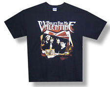 Bullet For My Valentine-Group Photo Stack-2010 Tour-Black T-shirt