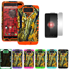Oak Tree Branch Camo Defender Armor Case Cover for Motorola Droid Ultra XT1080