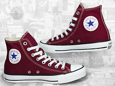 Converse All Star Chucks Hi Maroon / Weinrot  M9613C