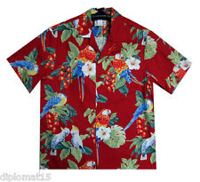 ORIGINAL HAWAIISHIRT Hawaii Shirt Hawaiishirt Parrots Party S M L XL