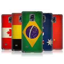 HEAD CASE VINTAGE FLAGS SET 1 PROTECTIVE COVER FOR SAMSUNG GALAXY NOTE 4