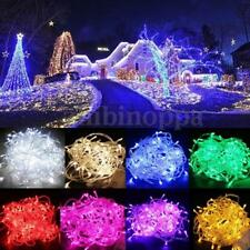 AA Battery 10/20/30/40 LED 8 Colors Xmas Wedding Party String Fairy Light Lamp